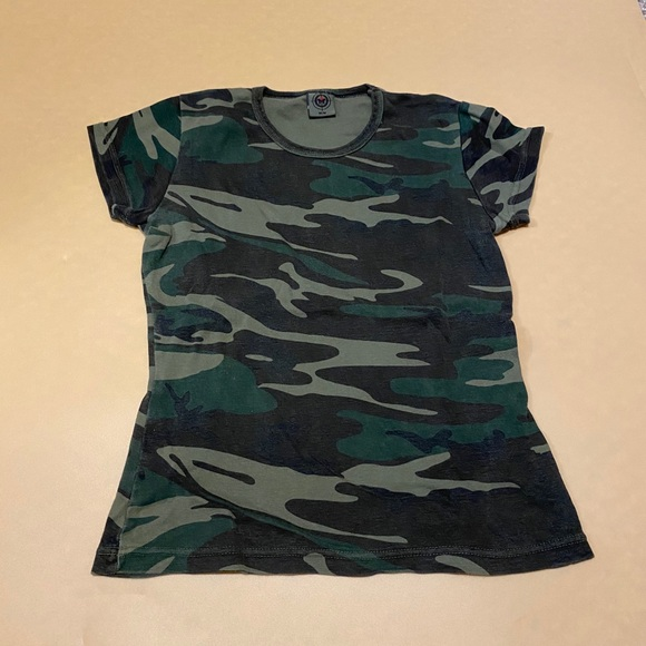 Vintage Fitted Camo Tee
